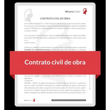 Contrato civil de obra -...